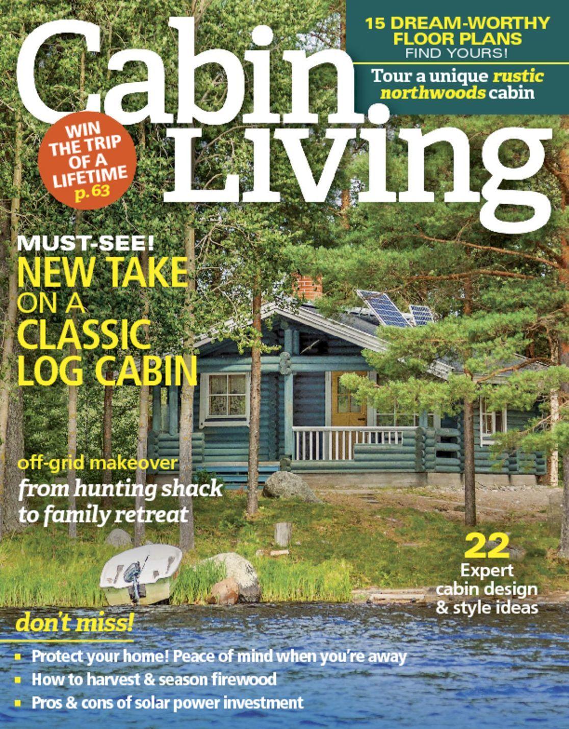 Cabin Living Magazine Subscription