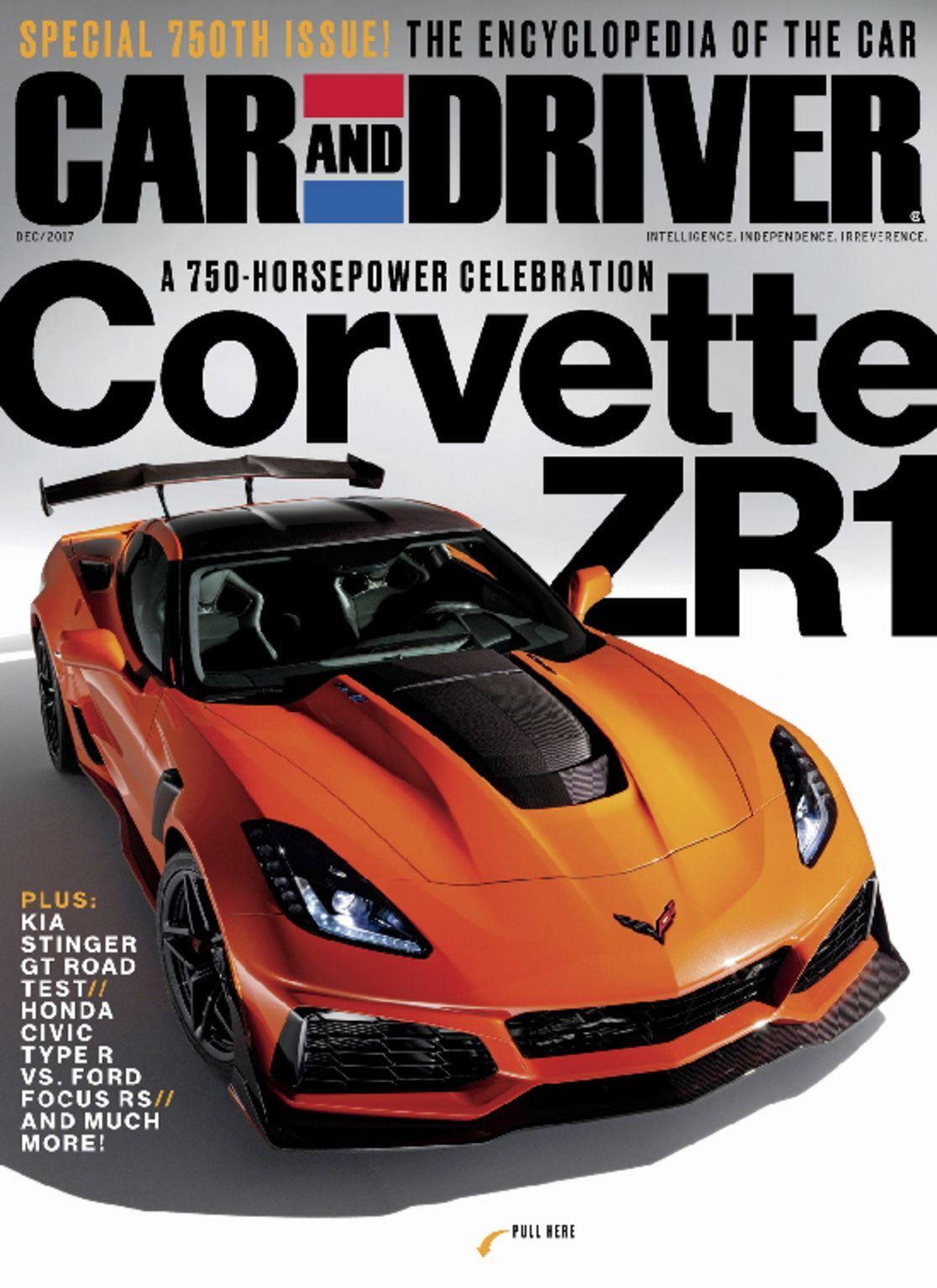 Car and driver magazine intelligence independence irreverence discountmags com