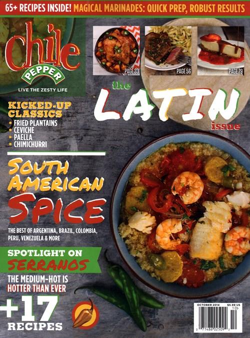 Chile Pepper Magazine Subscription