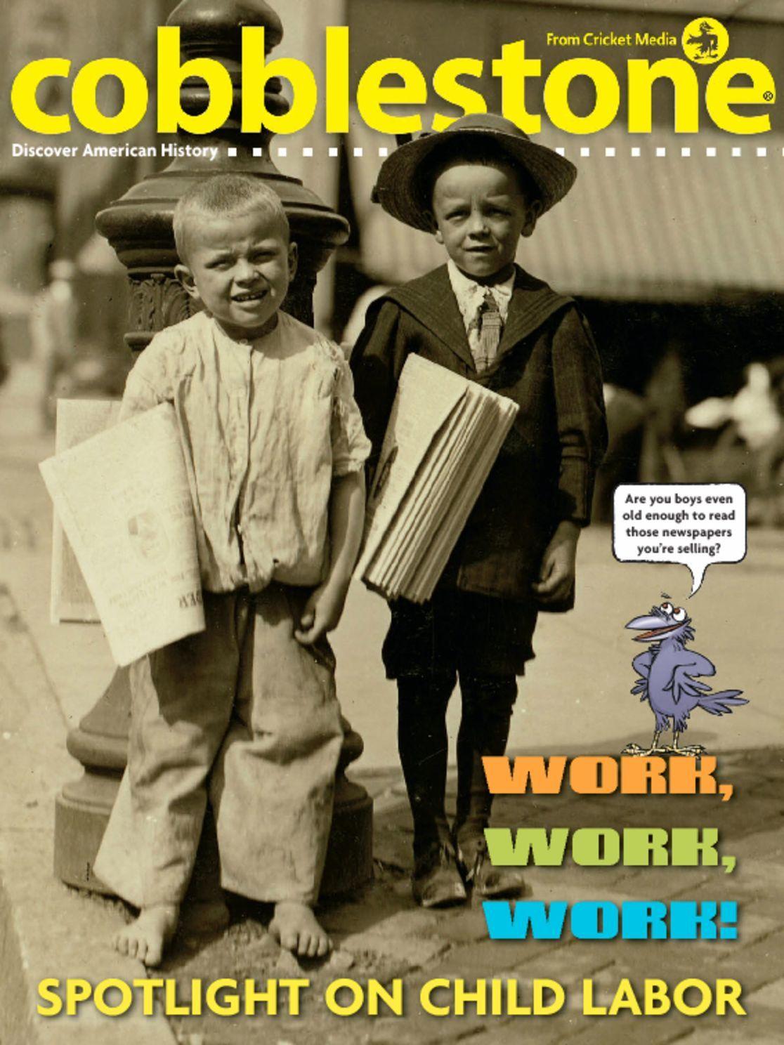 Cobblestone Age 9 and Up Magazine Subscription