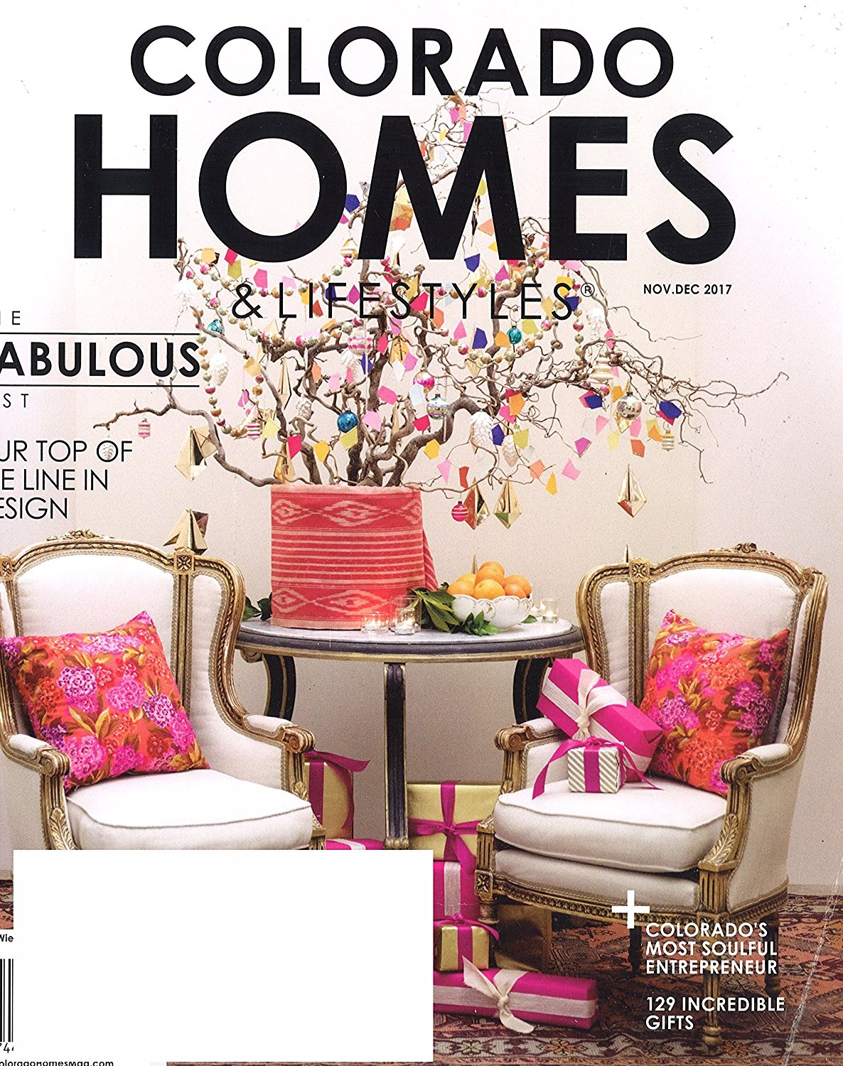 Colorado Homes and Lifestyles Magazine Subscription