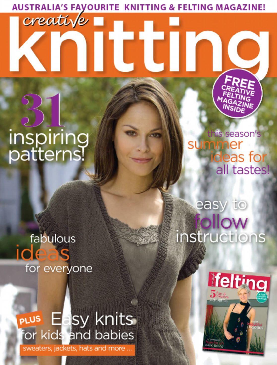Creative Knitting Magazine Subscription