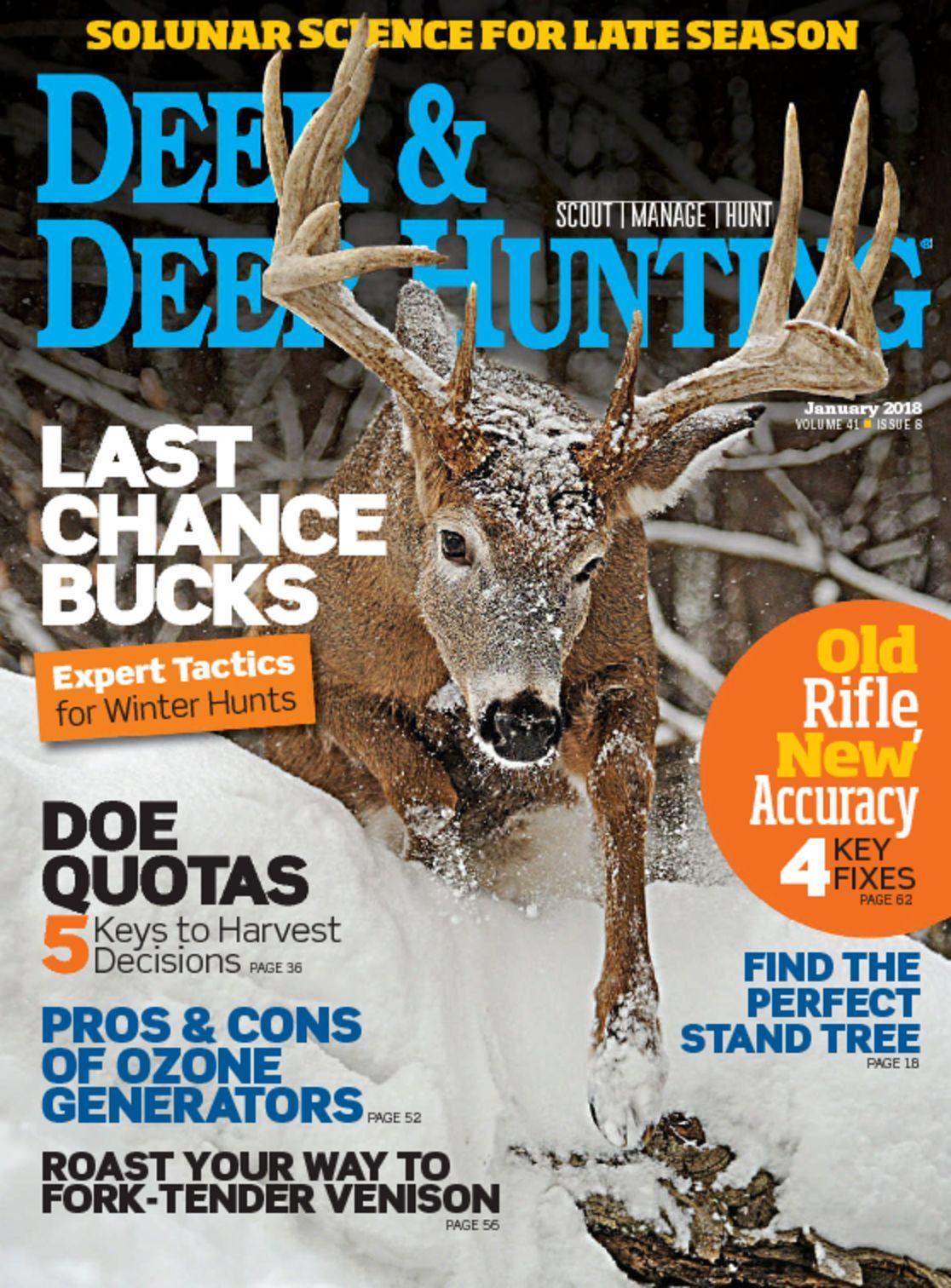 Deer Deer Hunting Magazine Subscription