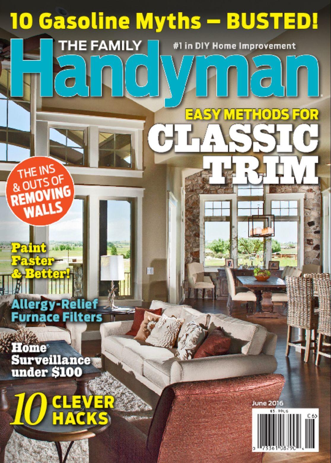 The Family Handyman - 11.2015 » Download PDF magazines