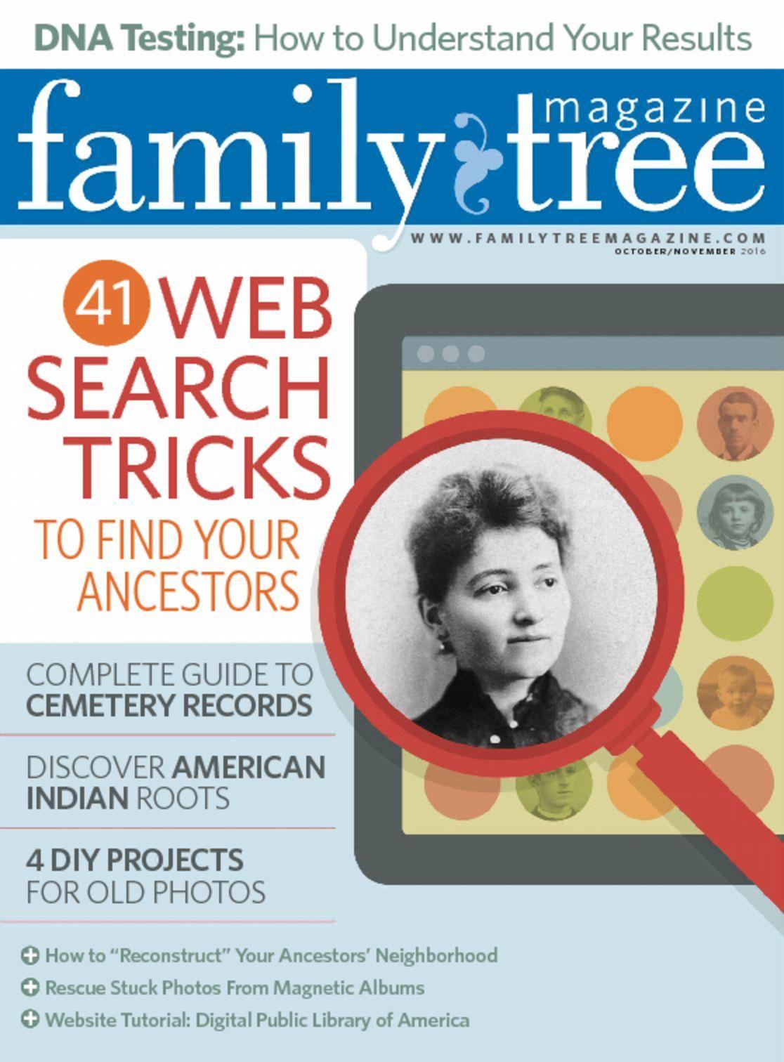 Family Tree  Magazine Cover