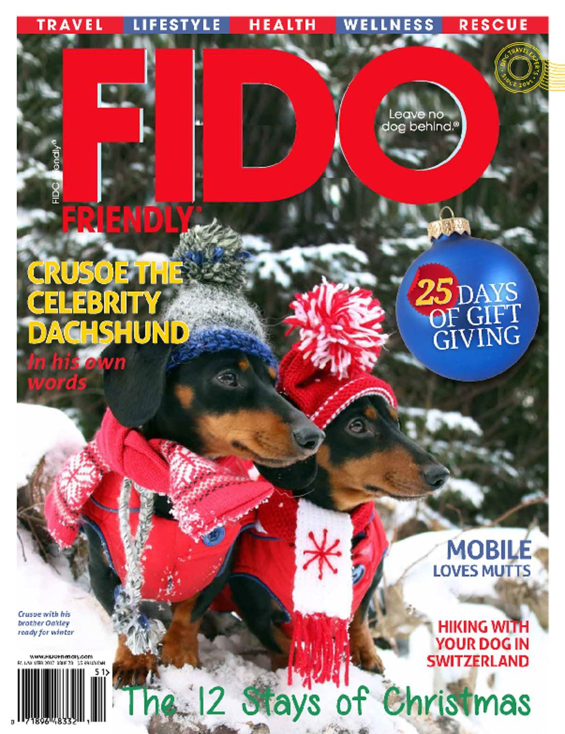 Fido Friendly Magazine Subscription