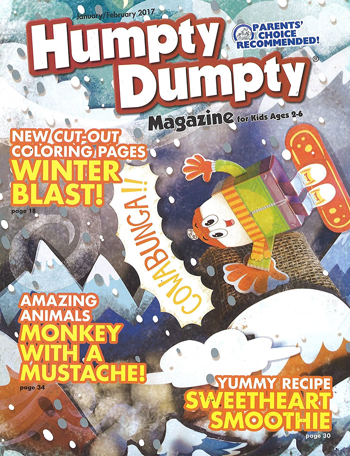 Humpty Dumpty Ages 4 to 6 Magazine Subscription