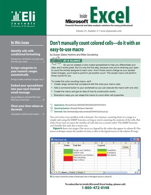 Inside Microsoft Excel