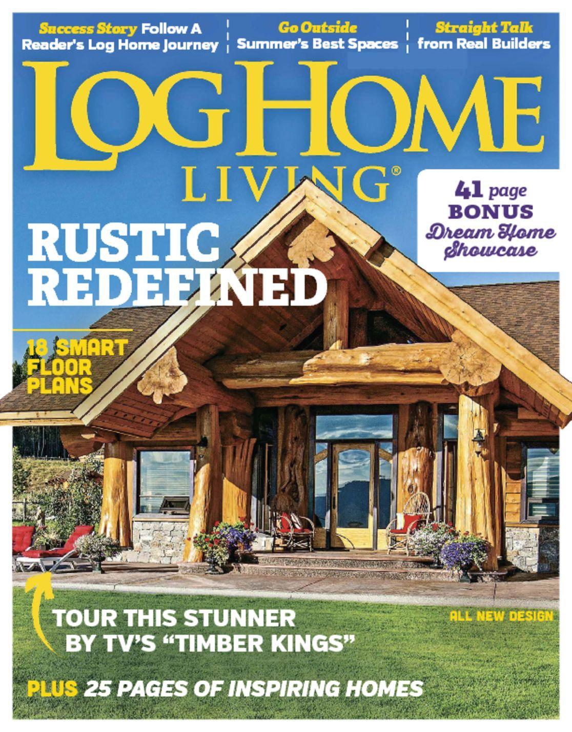 log home living magazine guide to log homes. Black Bedroom Furniture Sets. Home Design Ideas