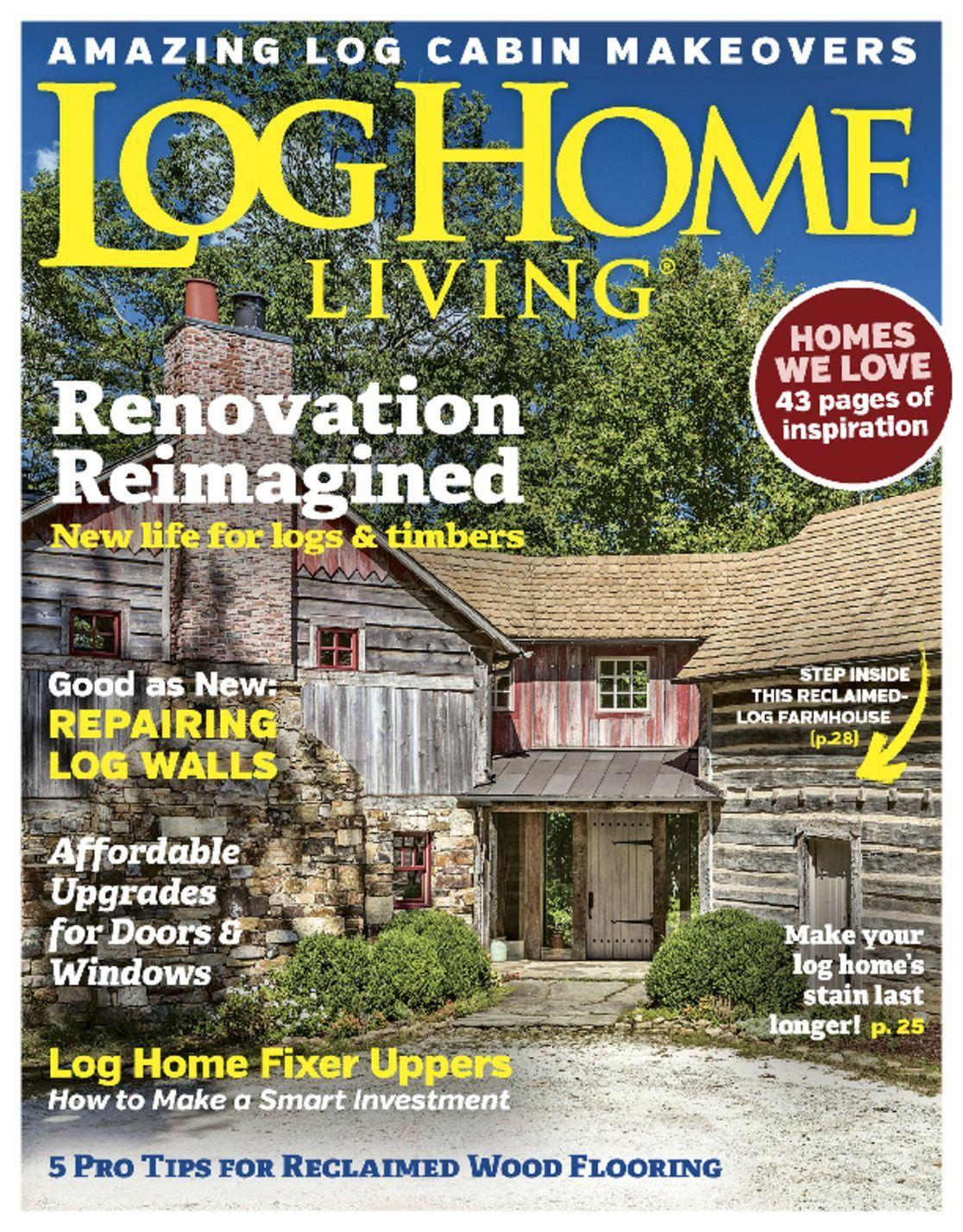 Log Home Living Magazine Subscription