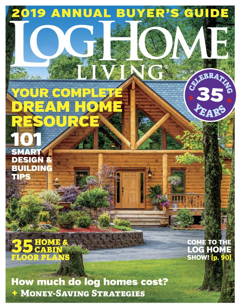 Best Price for Log Home Living Magazine Subscription