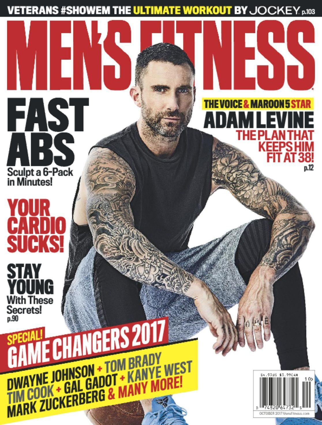 Men\'s Fitness Magazine | The New Measure of Success - DiscountMags.com