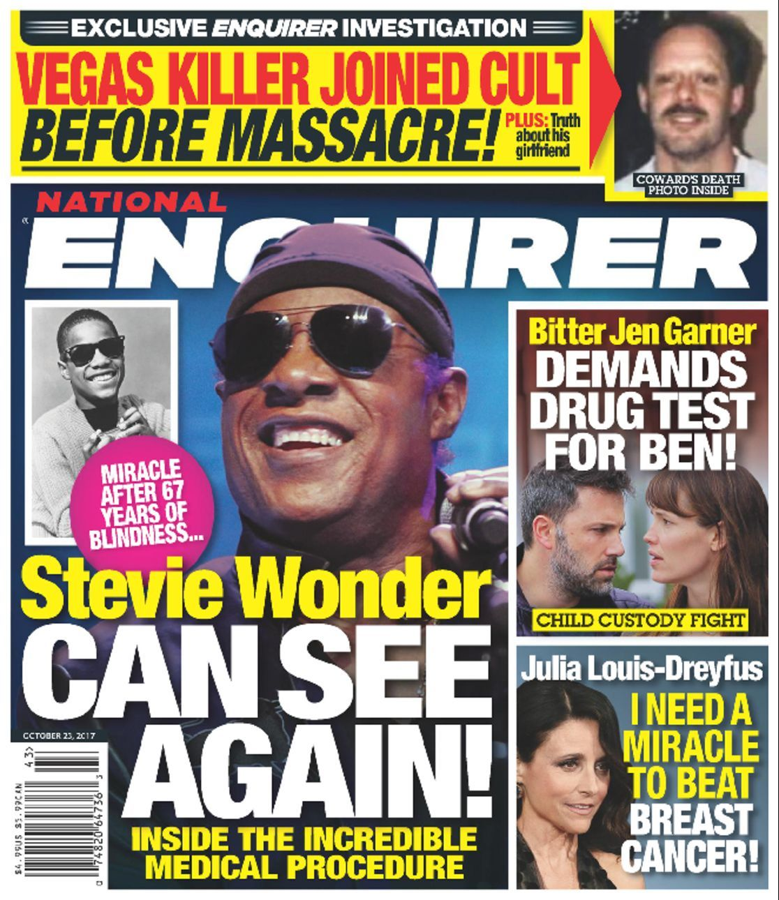 Celebrity gossip magazines the national enquirer online