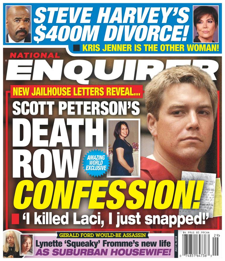 The National Enquirer is a celebrity news magazine that has been providing the news that