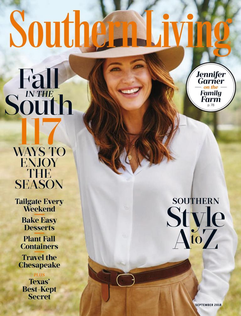 Southern living magazine a touch of southern hospitality for Southern living login