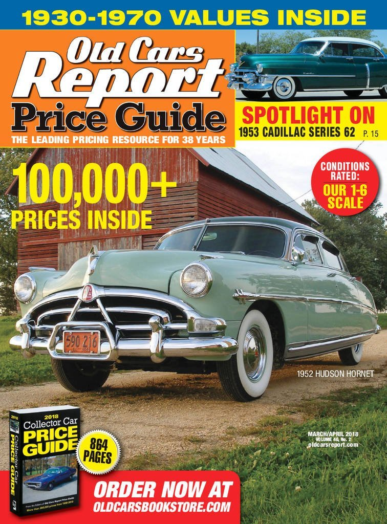 Old Cars Price Guide Magazine - DiscountMags.com