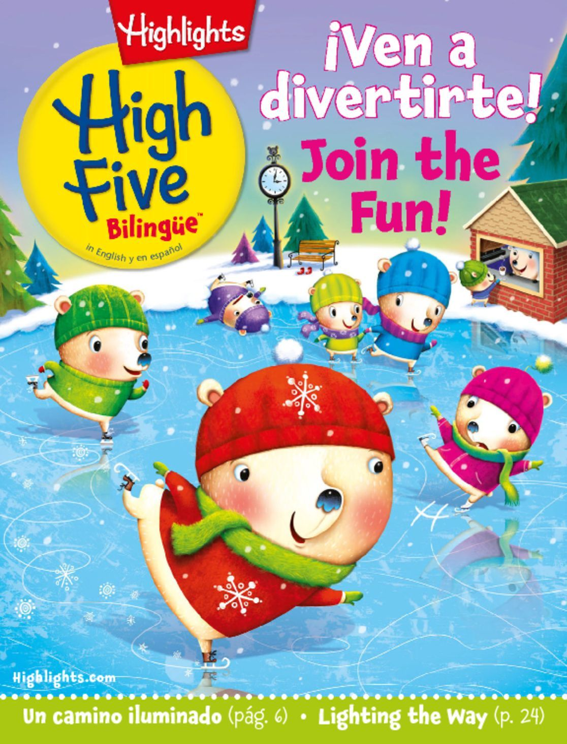 Highlights High Five Bilingue Magazine Subscription