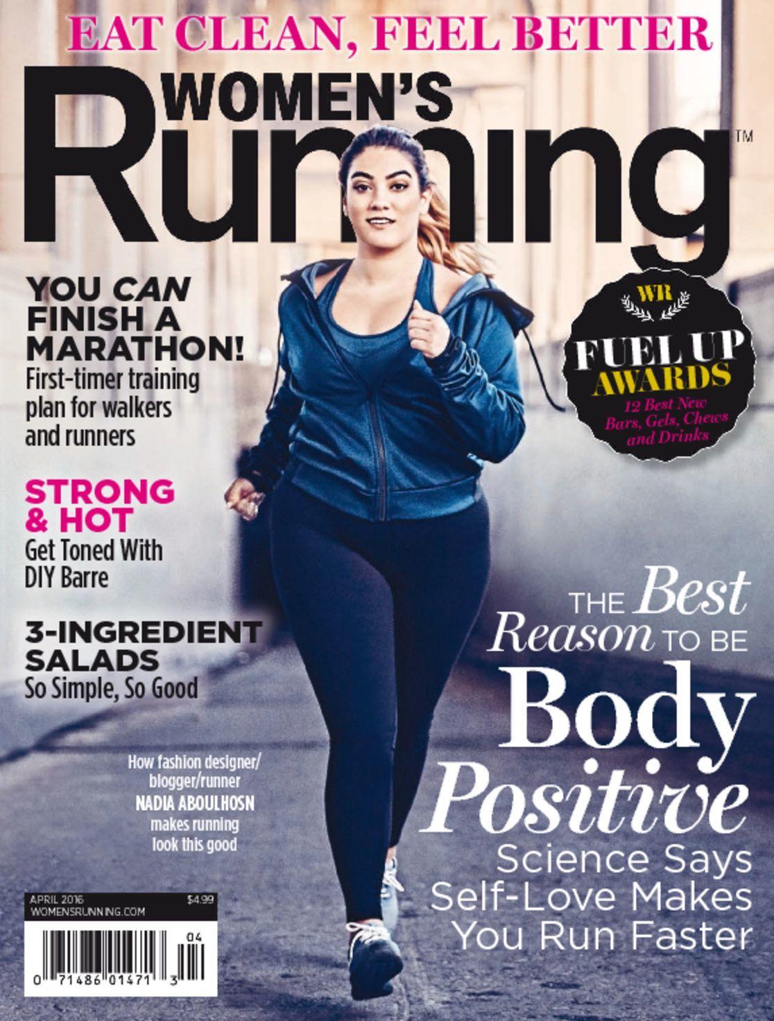 Magazine Cover Girls: Women's Running Magazine