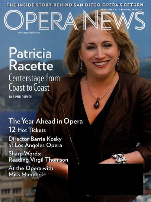 Opera News Magazine Subscription