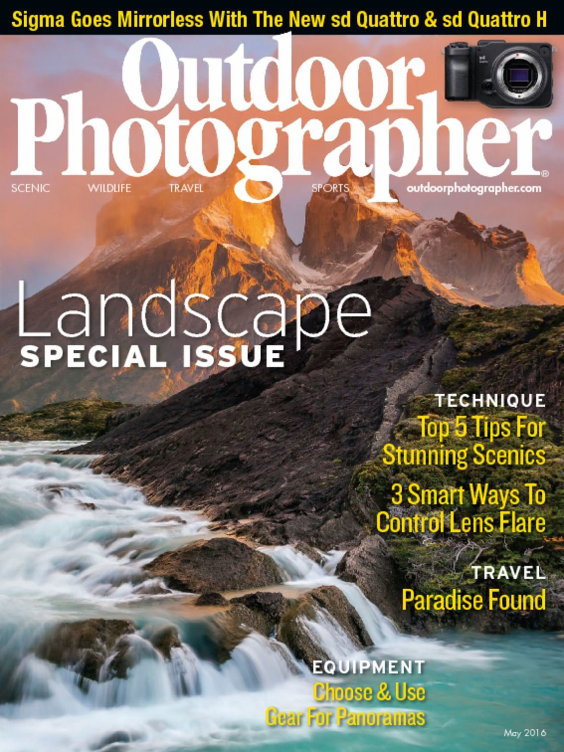 outdoor photographer magazine magazines outdoors pdf april discountmags issue