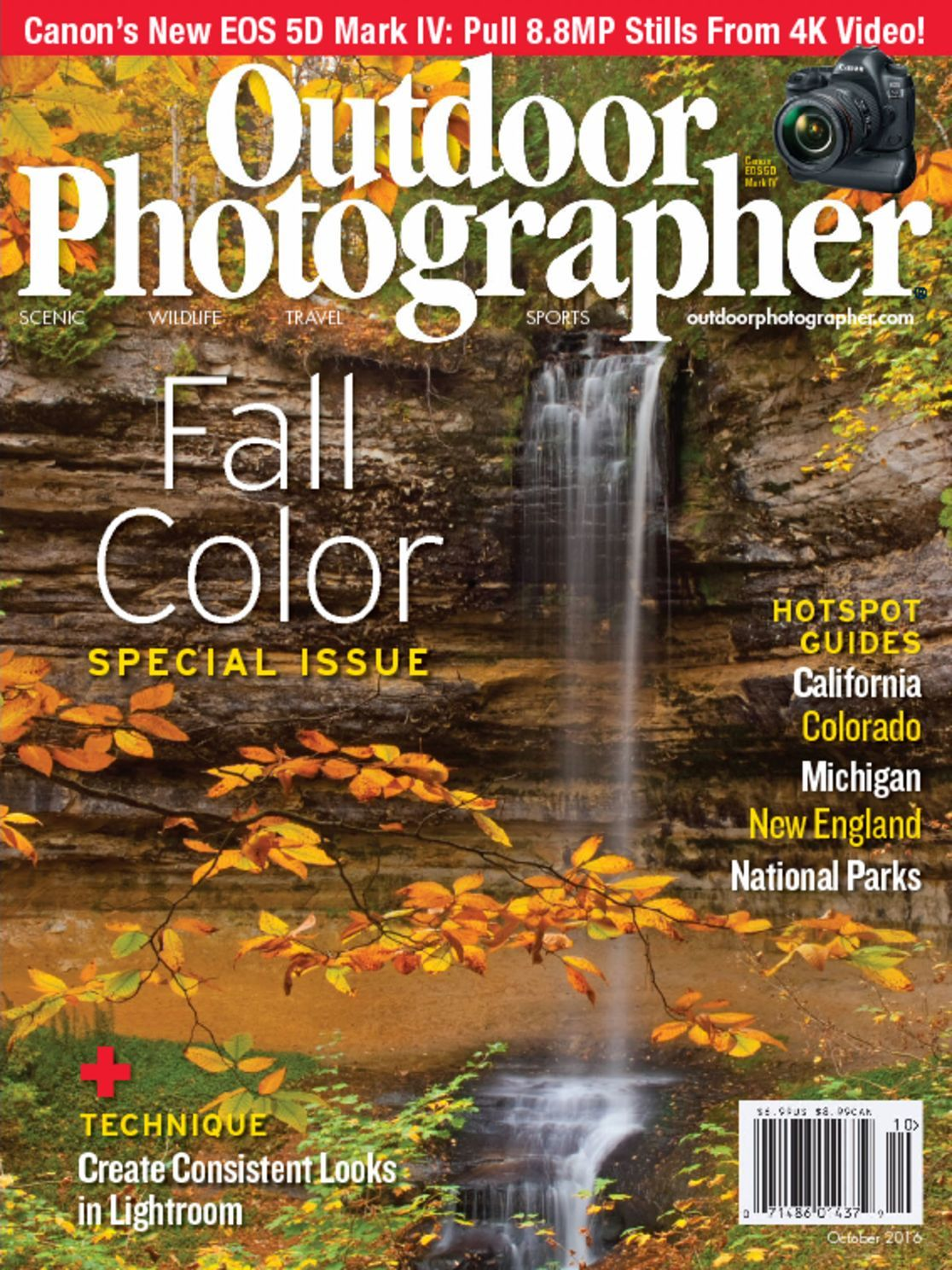 photographer magazine october magazines covers outdoors issue discountmags