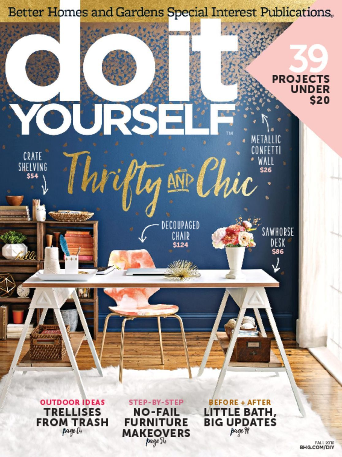 do it yourself magazine. Black Bedroom Furniture Sets. Home Design Ideas
