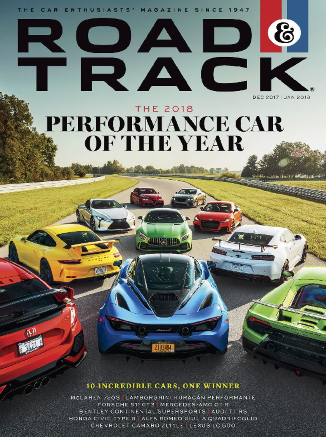 Road and Track Magazine Subscription