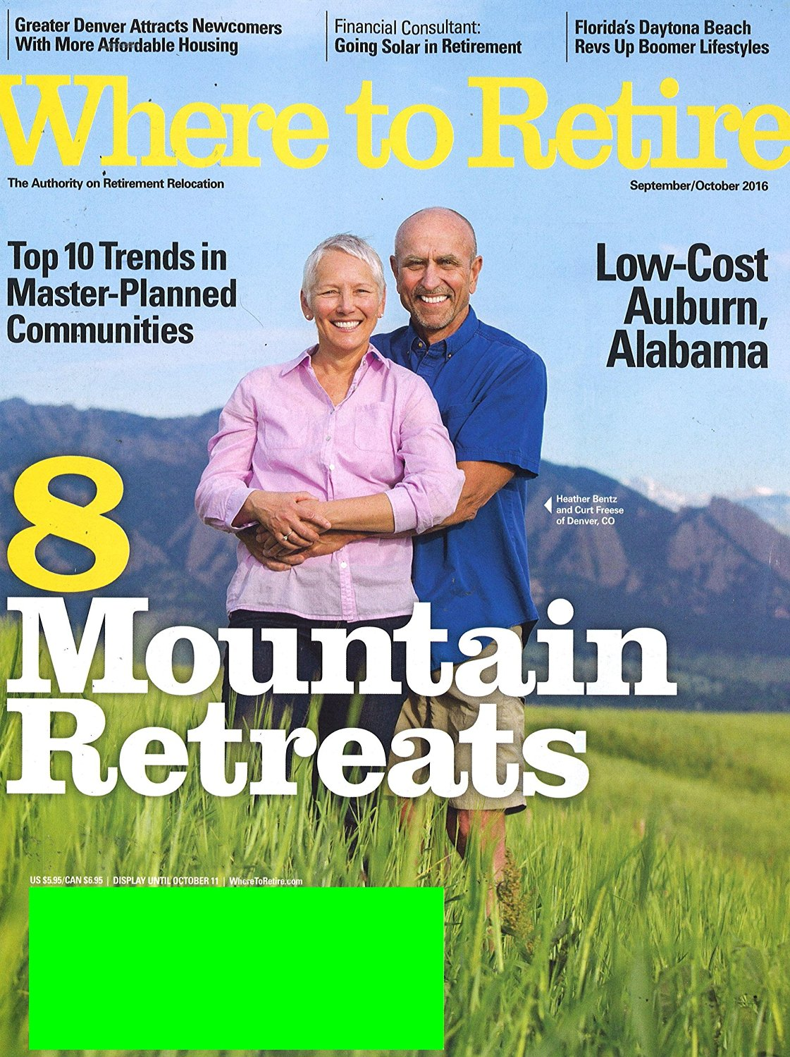 Where to Retire Magazine Subscription