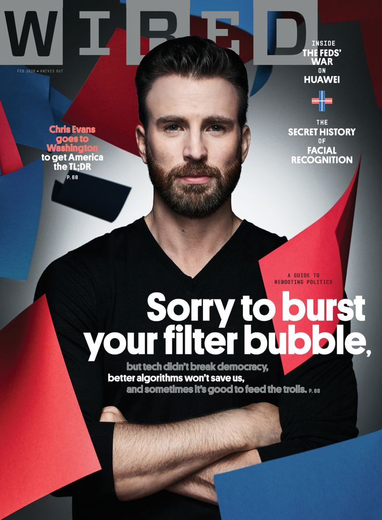 Luca on Wired magazine cover - Luca Parmitano