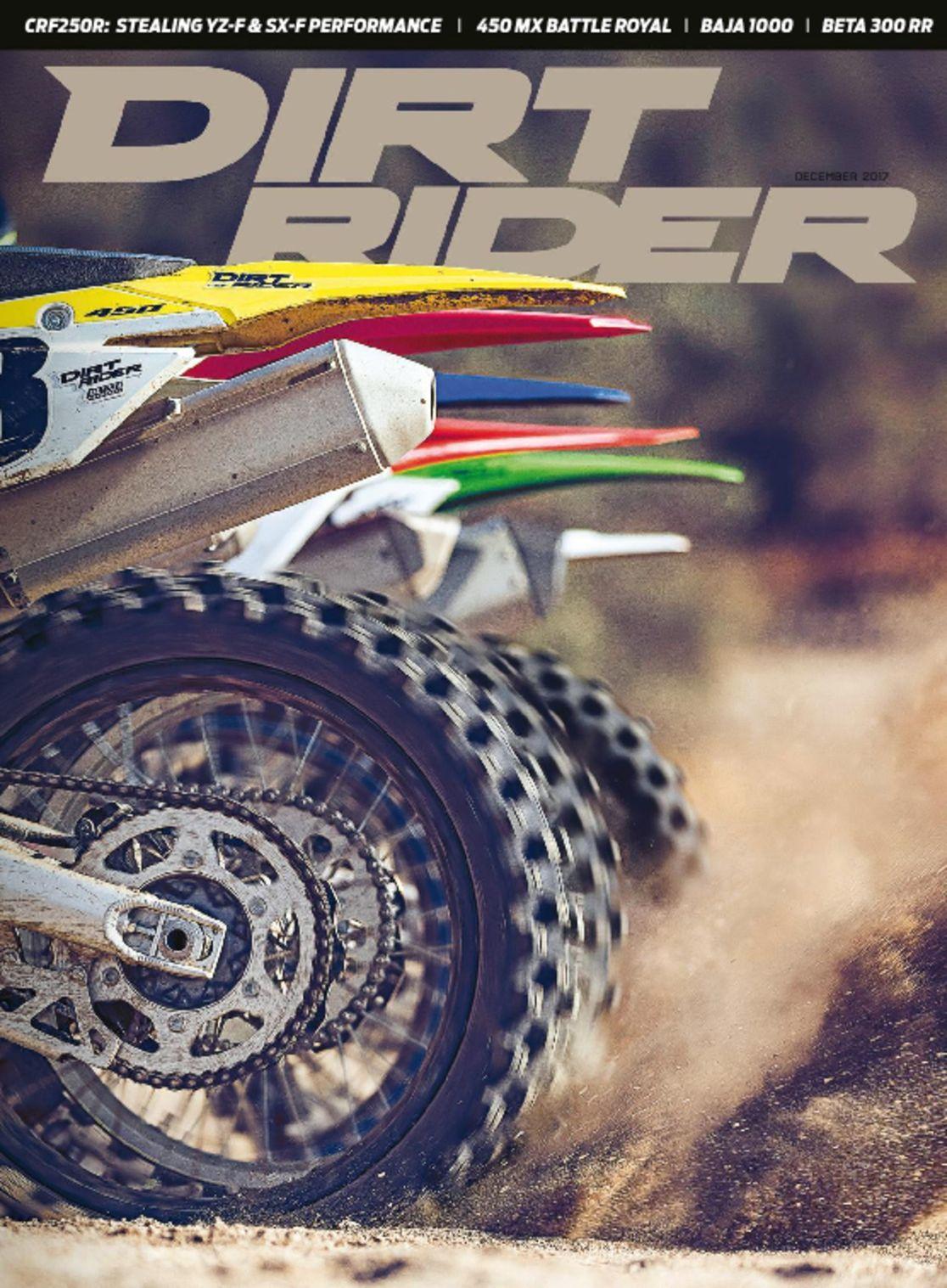 Dirt Rider Magazine Subscription
