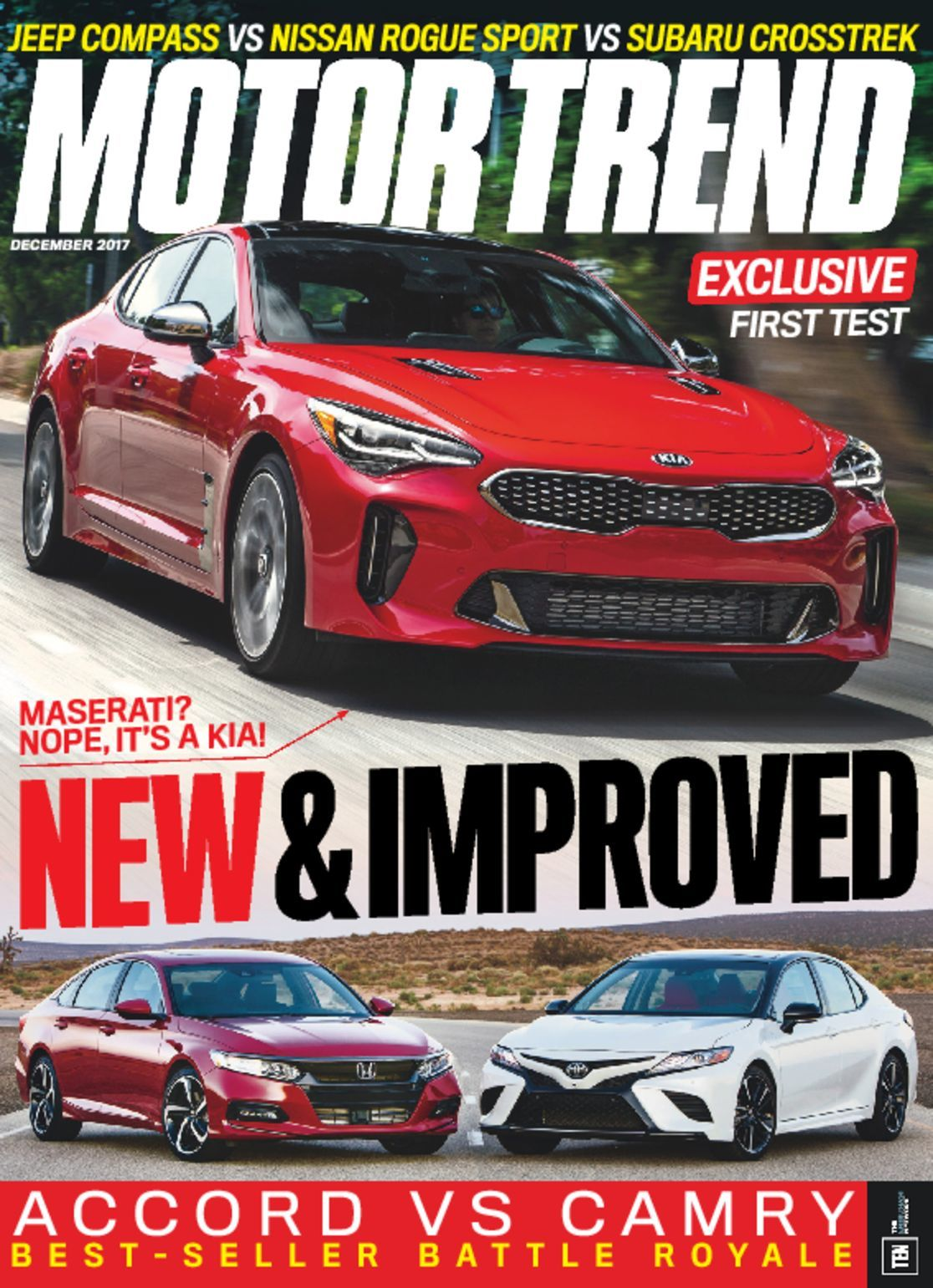 motor trend magazine a look into the automotive world