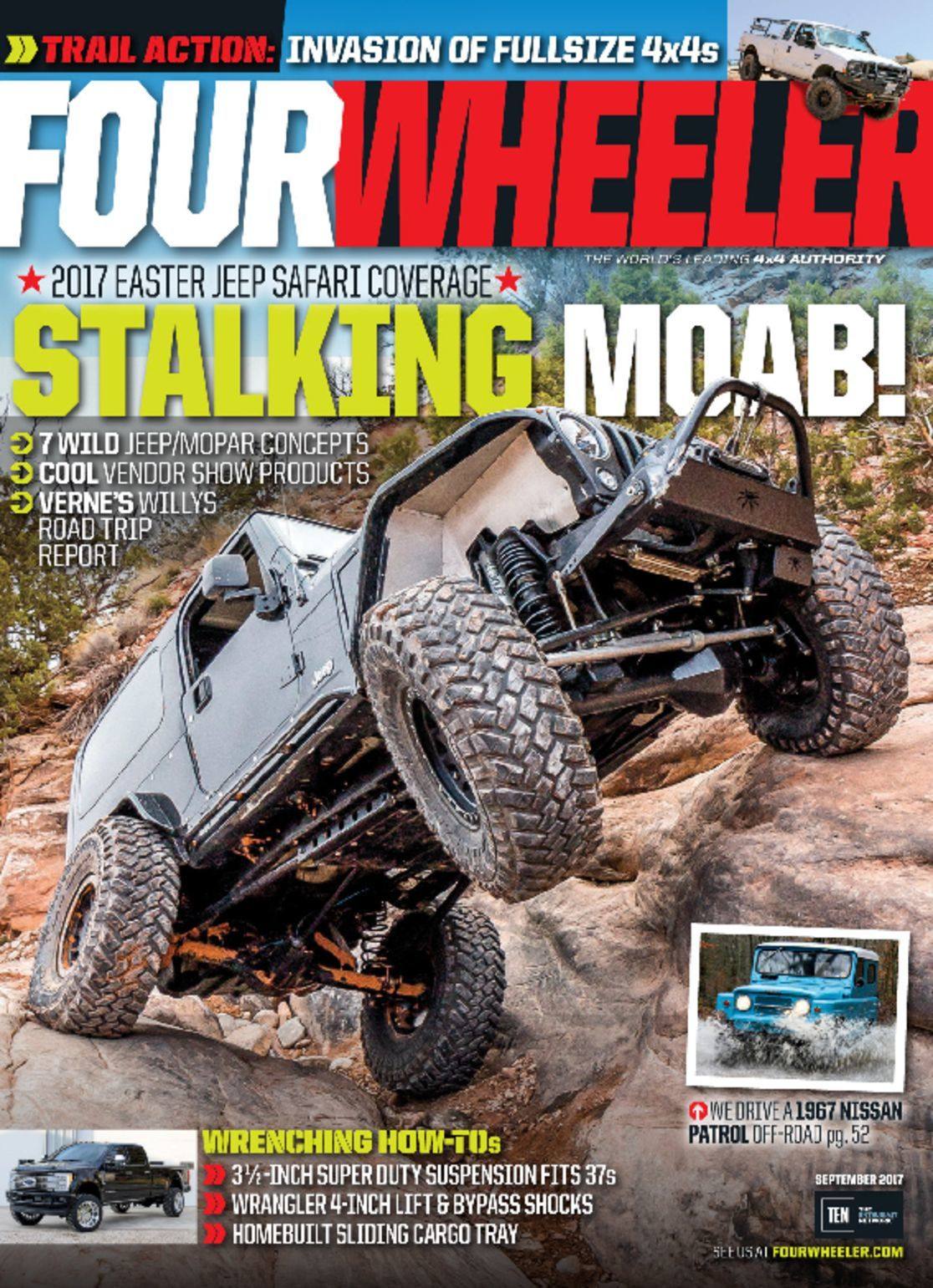 four wheeler magazine september topmags wheel drive discountmags magazines pdf issue