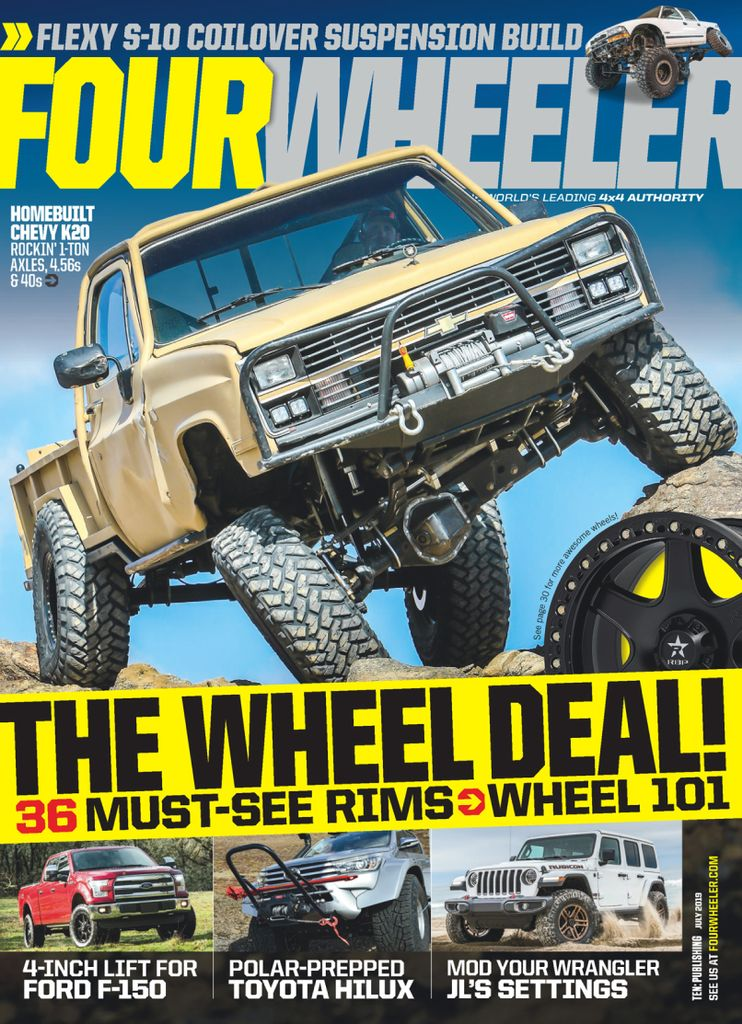 wheeler four july magazine wheel drive discountmags issue pdf