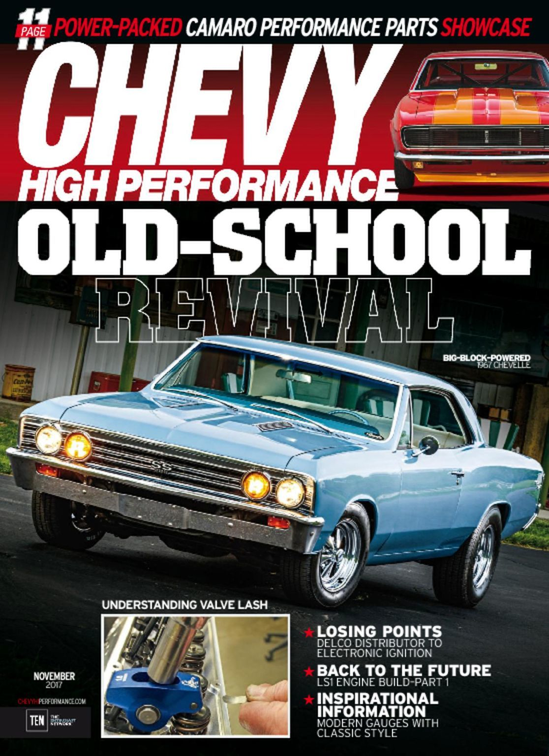 Chevy High Performance Magazine Subscription
