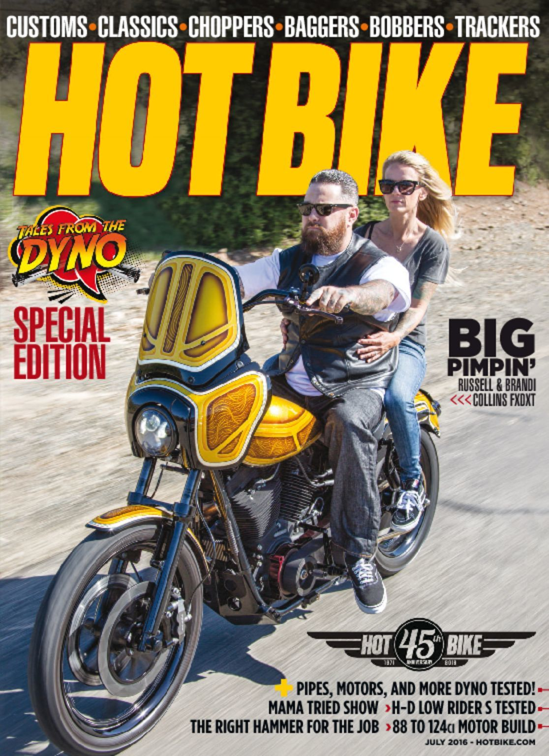 bike magazine motorcycle custom issue discountmags july
