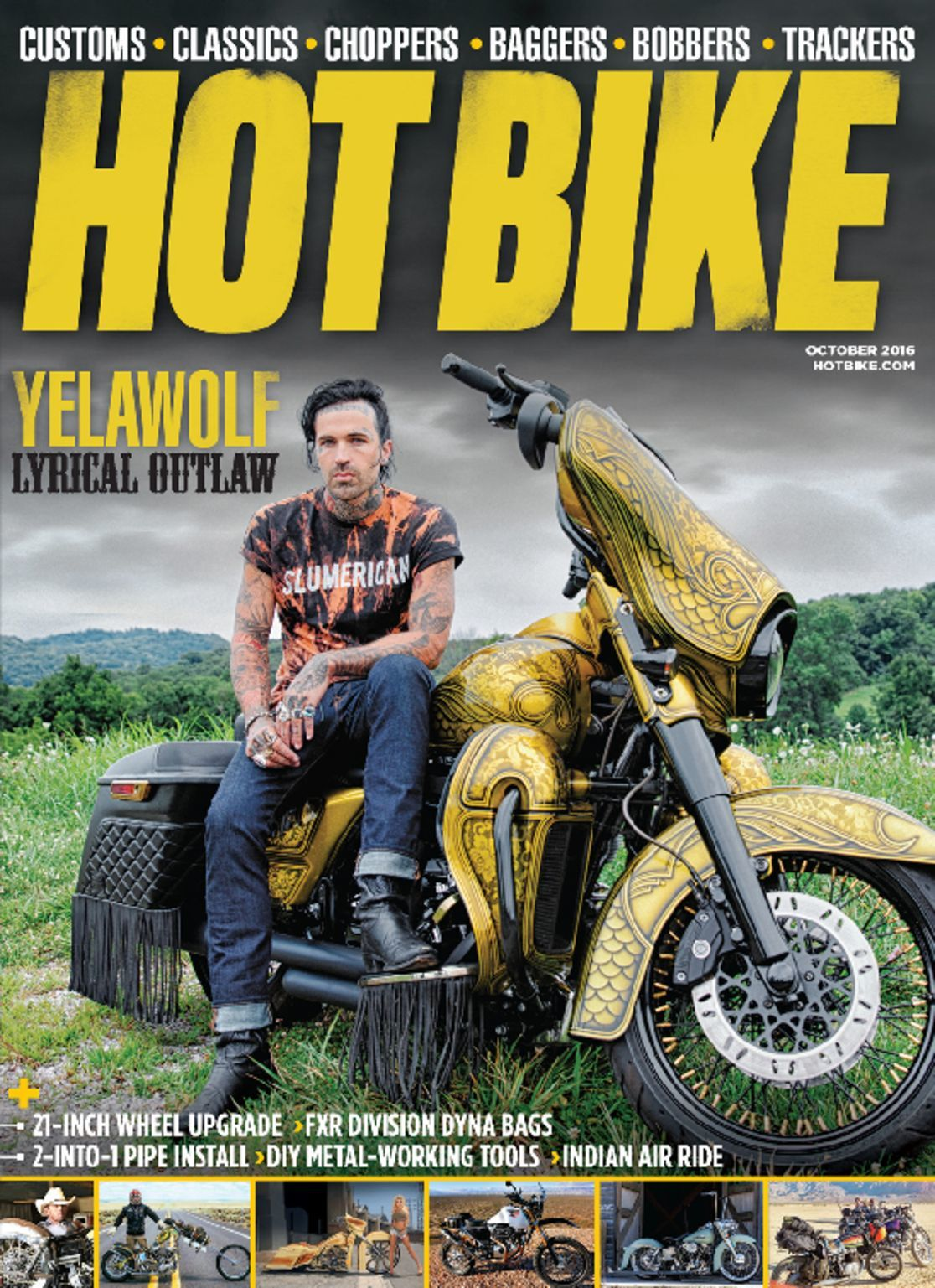 bike magazine motorcycle custom issue discountmags october normal