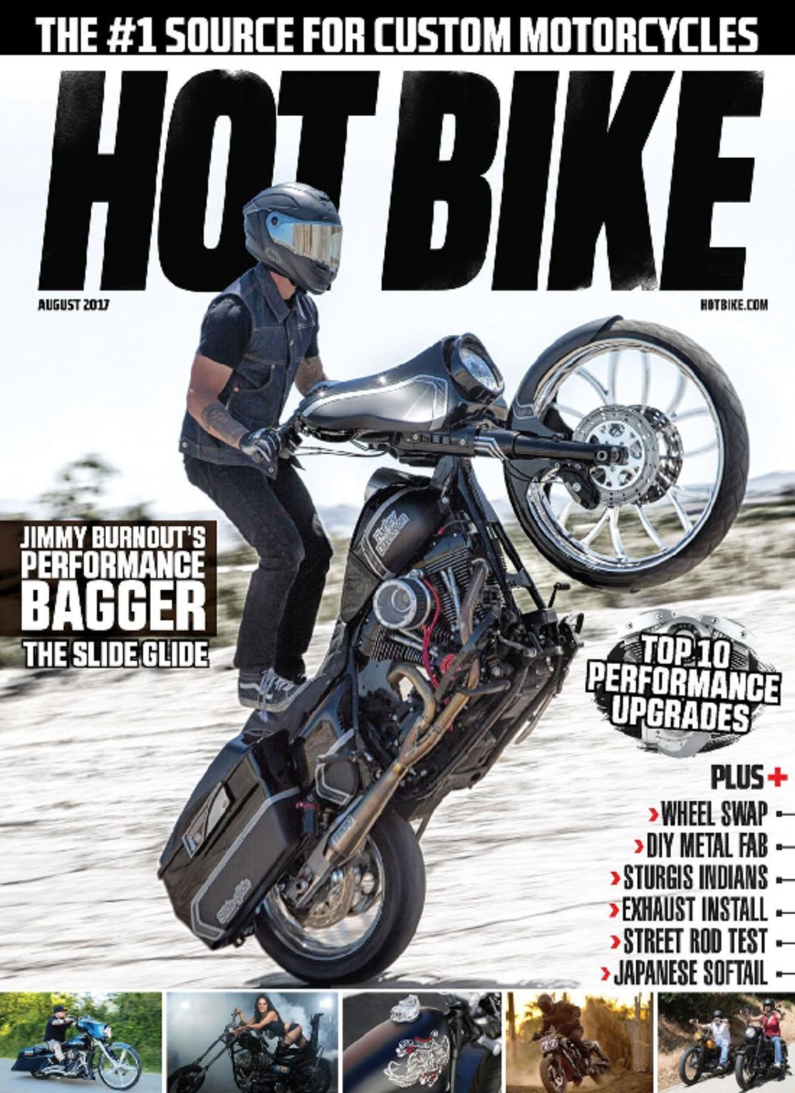 bike issue magazine august harley copy motorcycle custom discountmags pdf