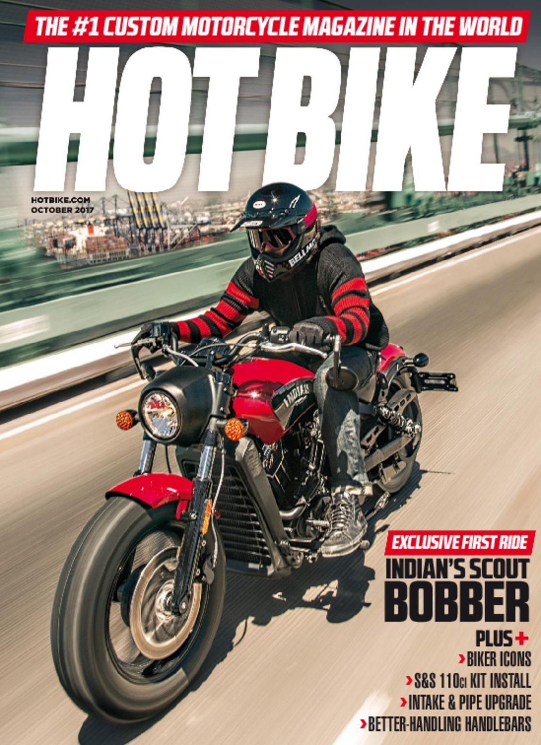 Best Cycling Computer >> Hot Bike Magazine | The Custom Motorcycle Magazine - DiscountMags.com
