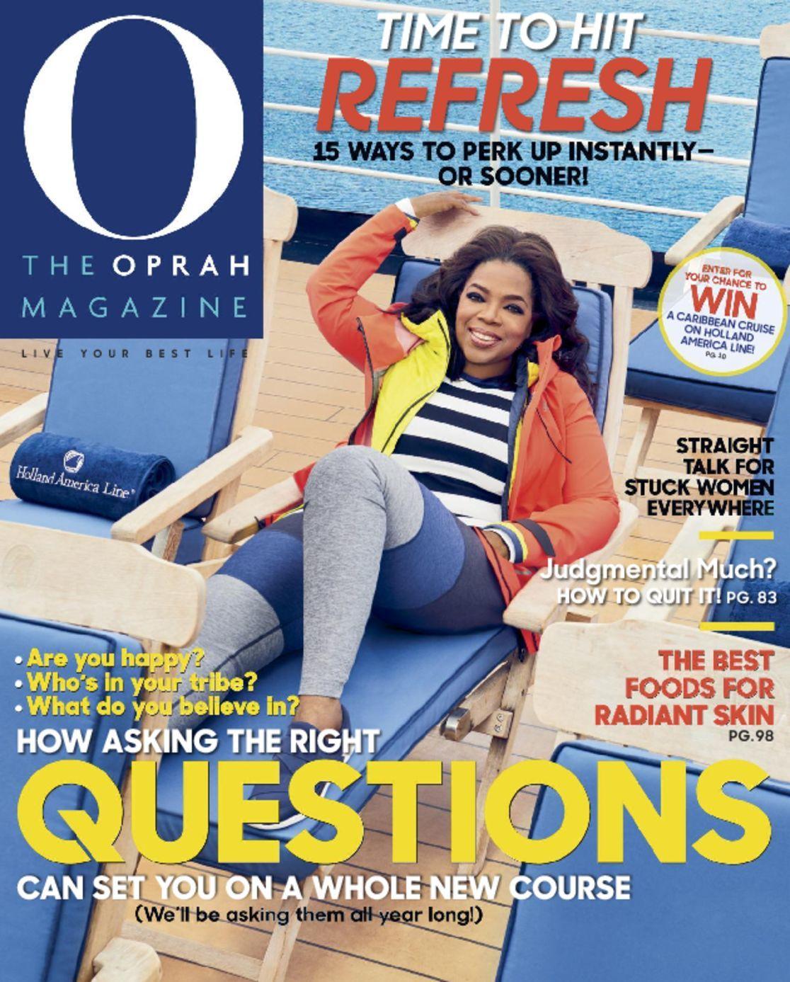 O Oprah Magazine Subscription