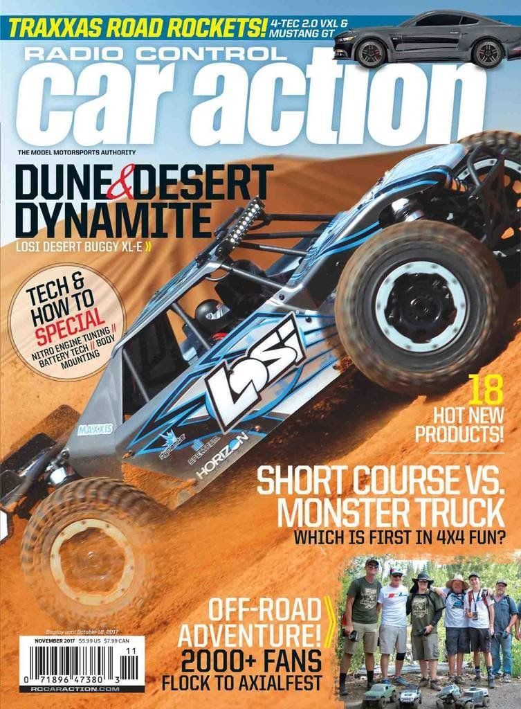 Radio Control Car Action Magazine Subscription