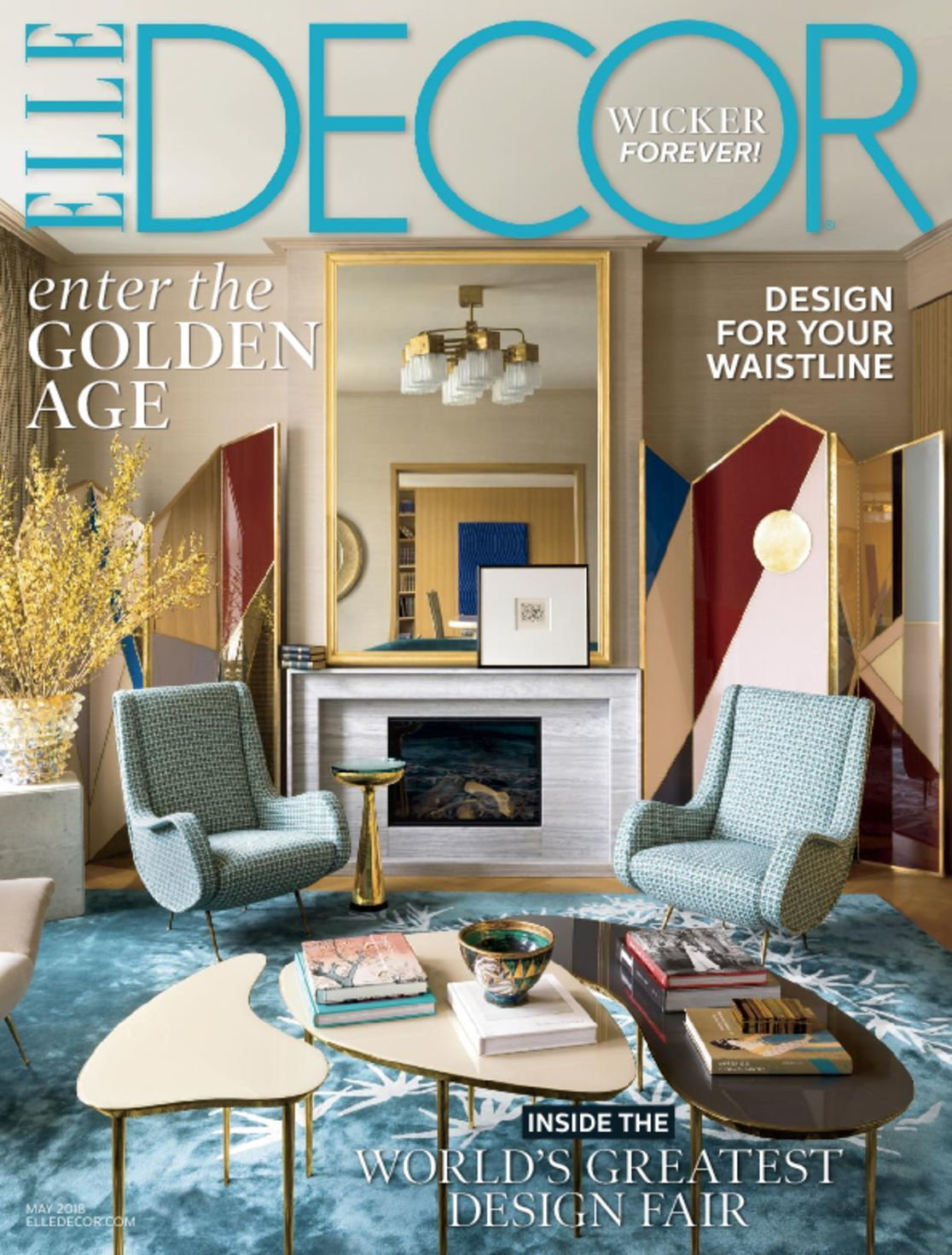 Elle decor magazine home decorating ideas for Magazine living room ideas