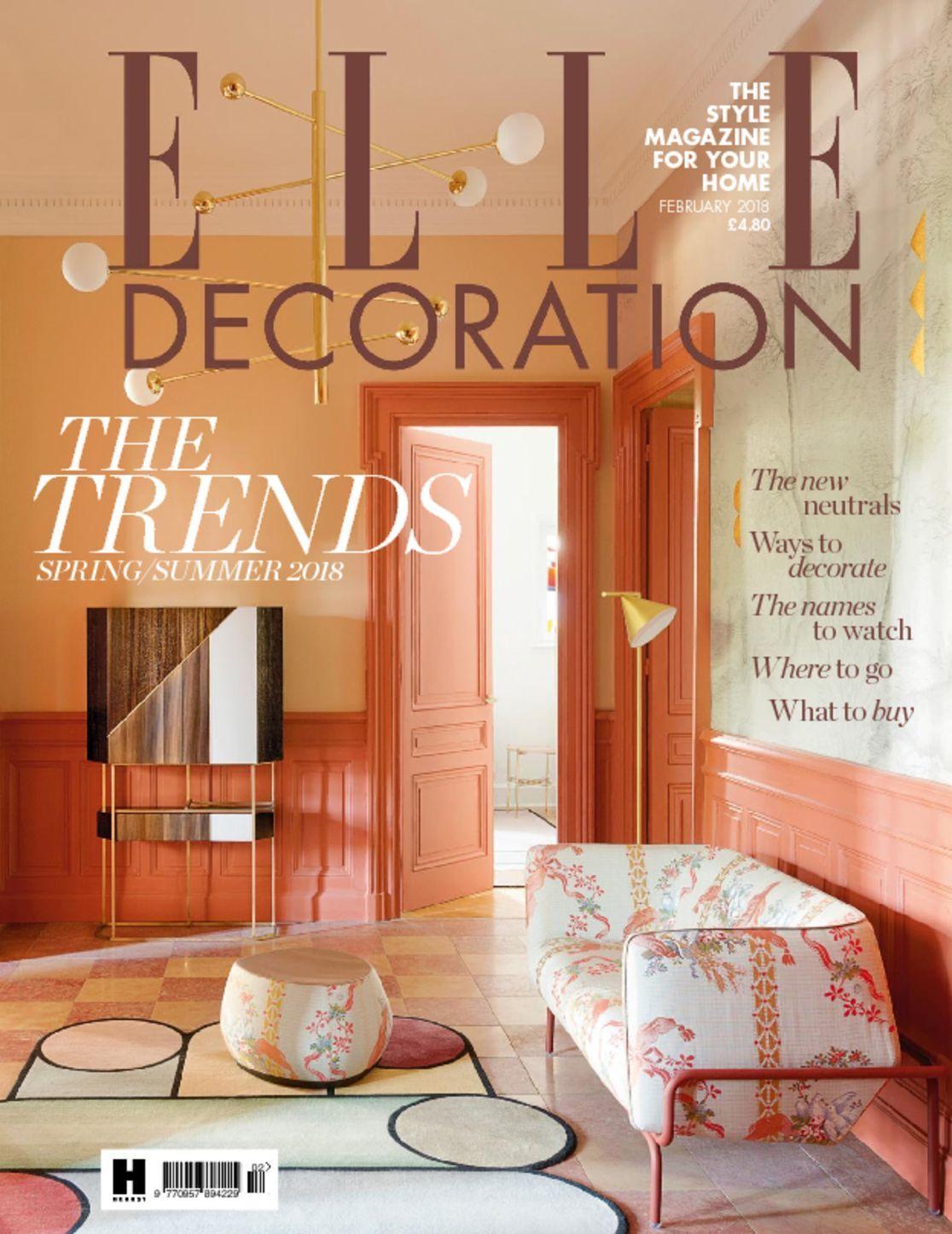 Elle decoration uk magazine digital for Elle decoration uk
