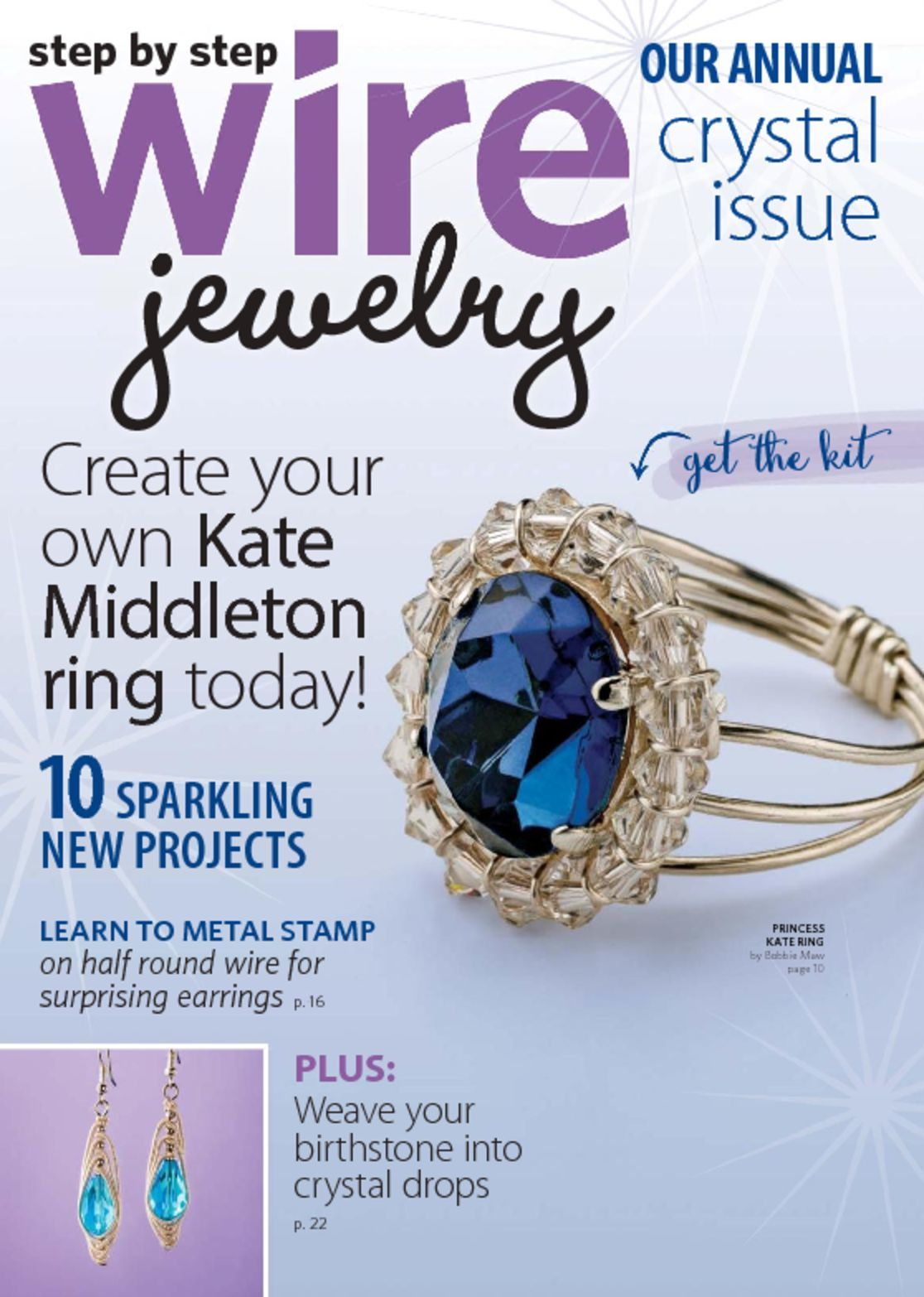 Step by step wire jewelry magazine digital for Step by step wire jewelry subscription