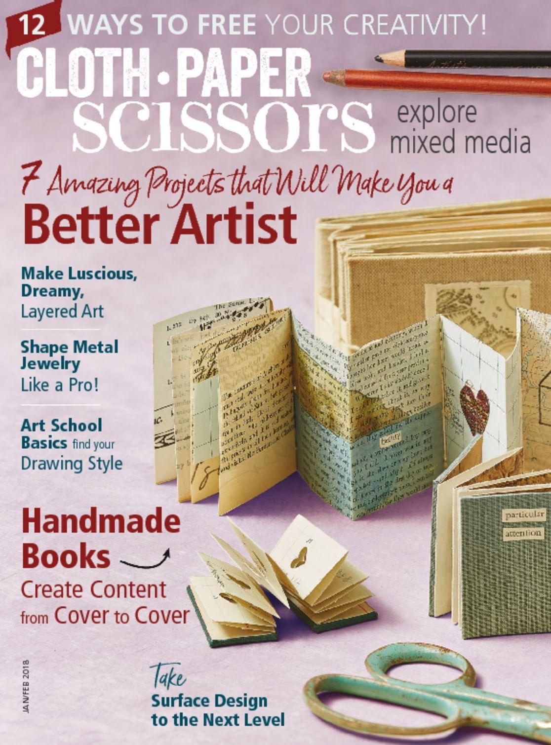 Cloth Paper Scissors Digital