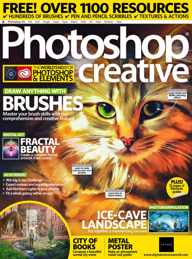 photoshop creative magazine  digital
