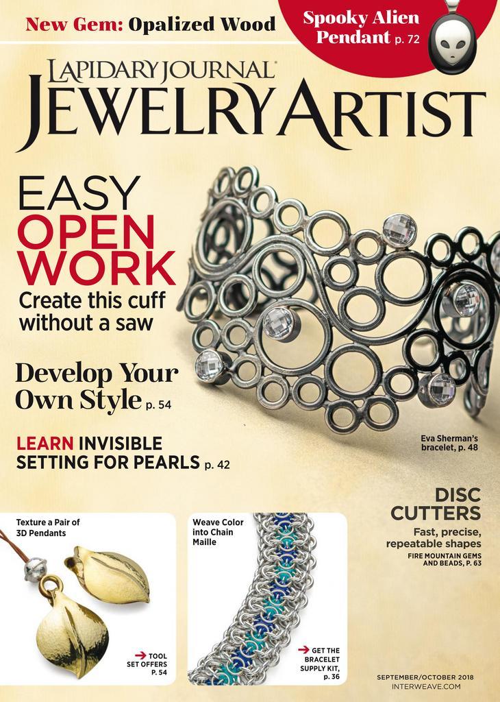 Lapidary Journal Jewelry Artist Digital