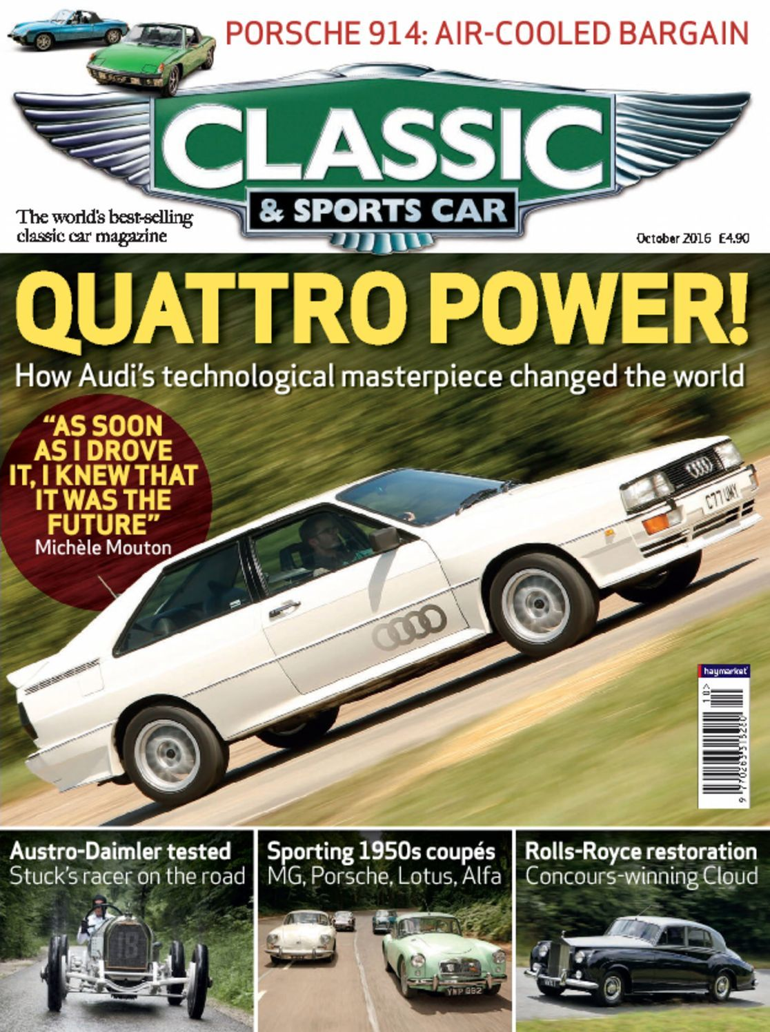 classic sports car digital magazine. Black Bedroom Furniture Sets. Home Design Ideas