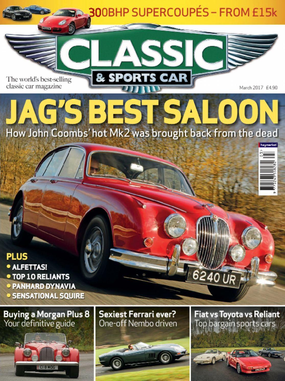 classic sports car digital magazine. Black Bedroom Furniture Sets. Home Design Ideas