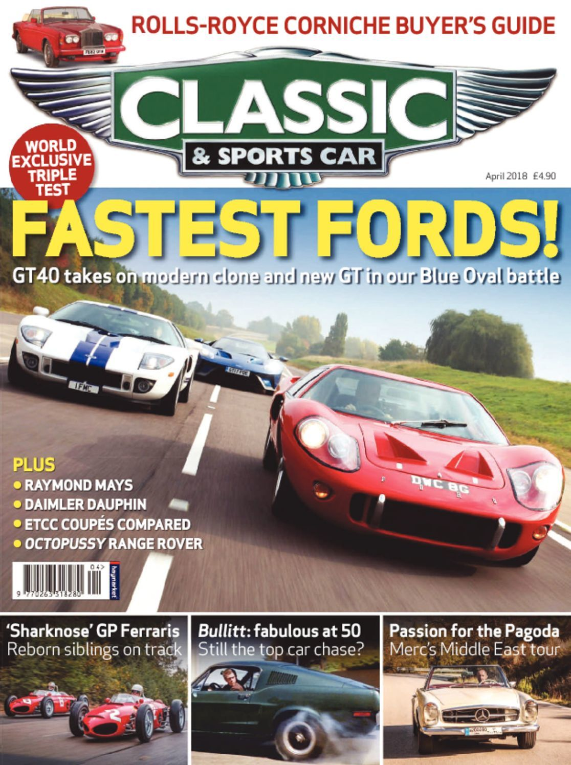 classic sports car magazine digital. Black Bedroom Furniture Sets. Home Design Ideas