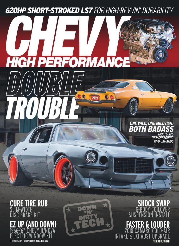 Chevy High Performance Digital